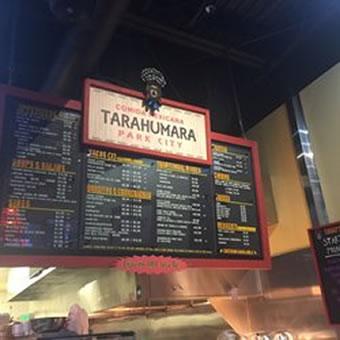 Tarahumara Park City Menu